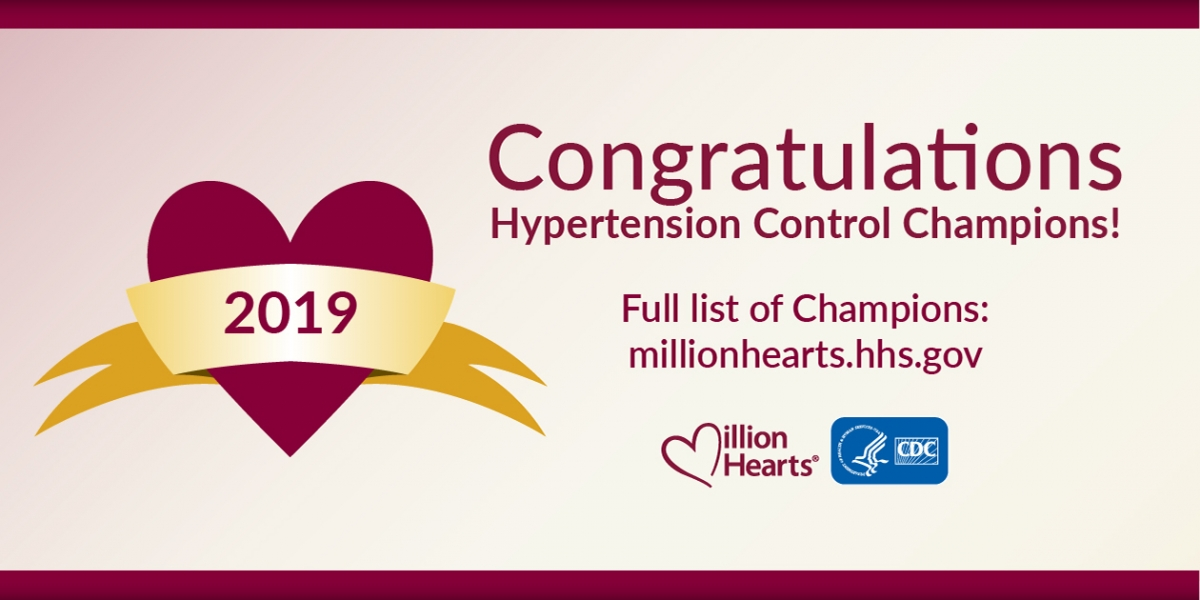 Iowa Community Health Center Receives National Distinction for Hypertension Control