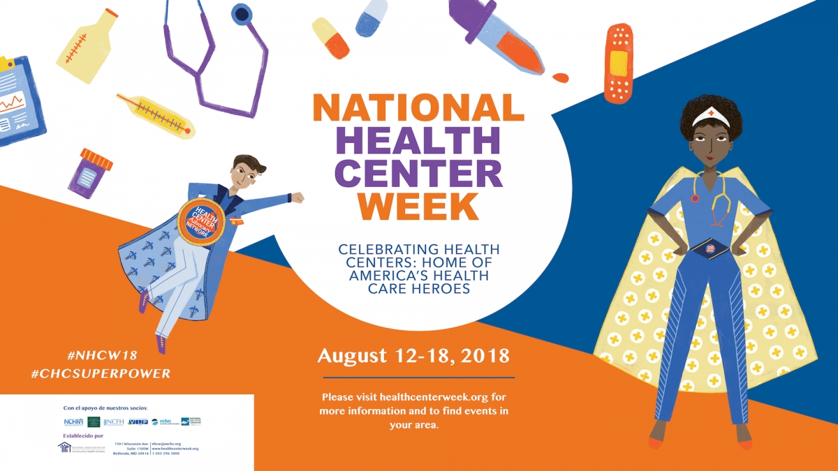 National Health Center Week Has Arrived!
