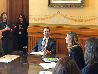 Community Health Day on the Hill Brings Community Health Center Priorities to Iowa Lawmakers